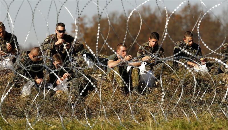 Slovenië zet leger in bij migrantencontrole