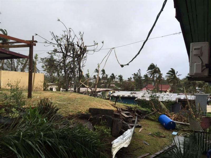 Tientallen doden op Fiji door cycloon Winston