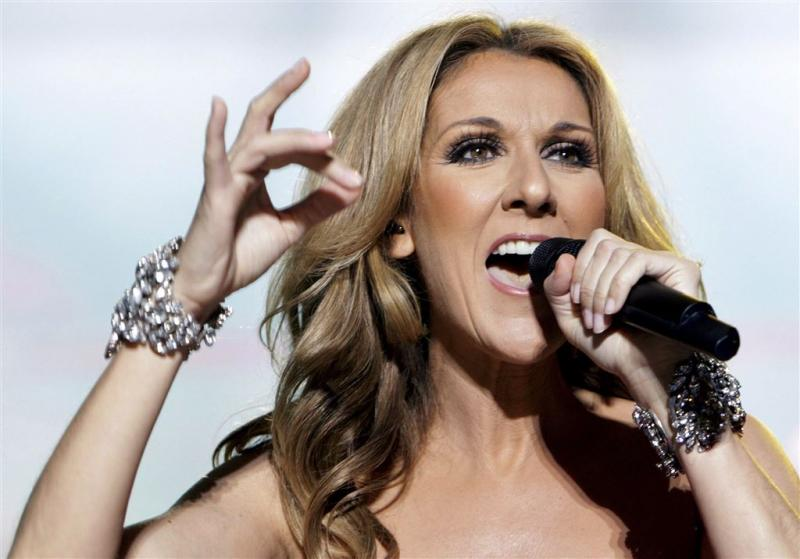 Optreden Céline Dion live op internet te zien