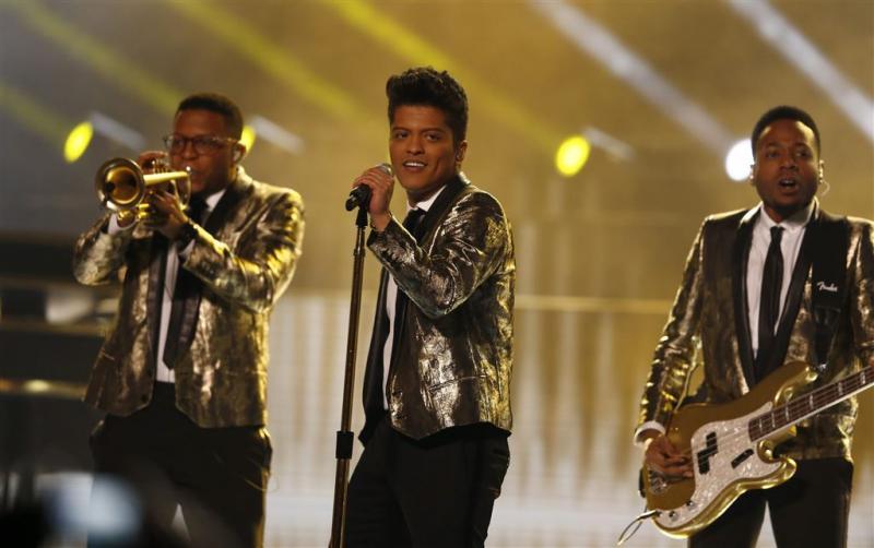 Bruno Mars zou Uptown Funk hebben gejat