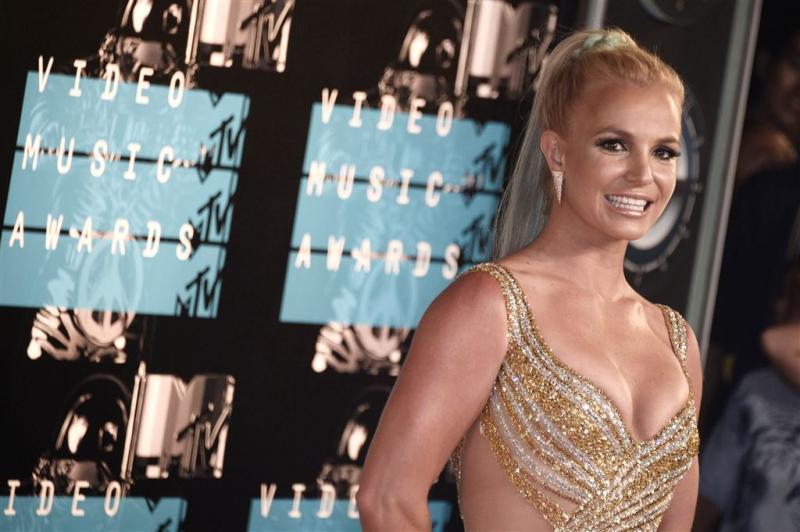 Britney Spears in ondergoed op Instagram