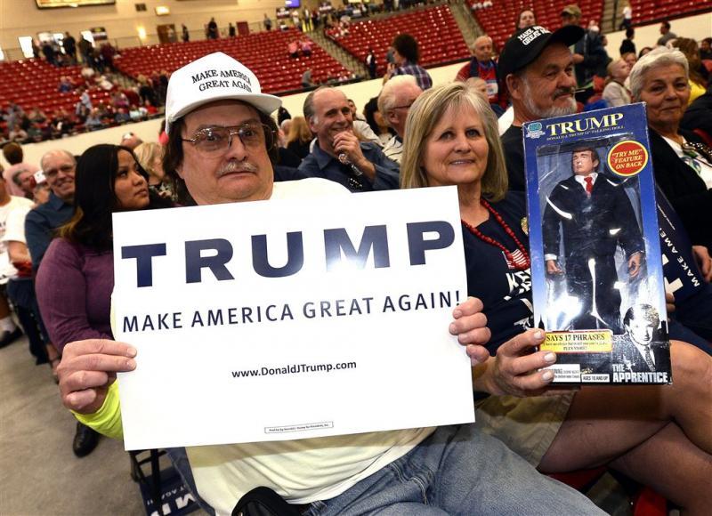 Trump wint voorverkiezingen Nevada