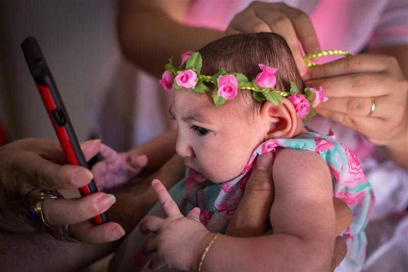 Weer meer baby's Brazilië met hersenaandoening