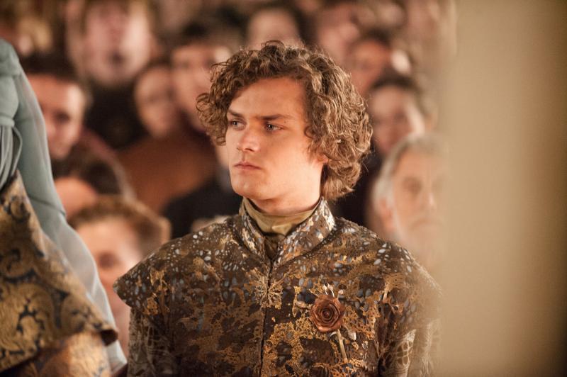 Finn Jones als Loras Tyrell in Game of Thrones