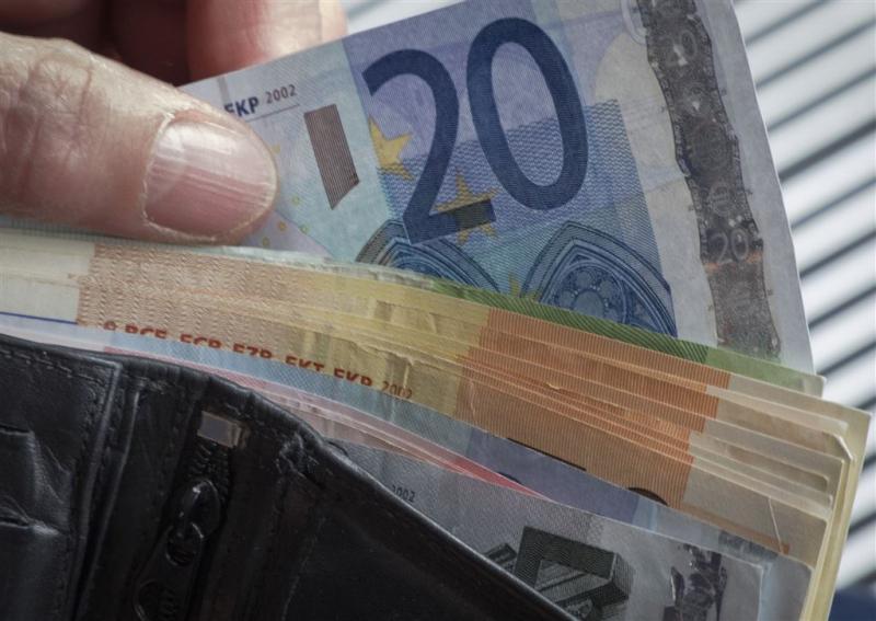 Prijsniveau daalt in eurozone