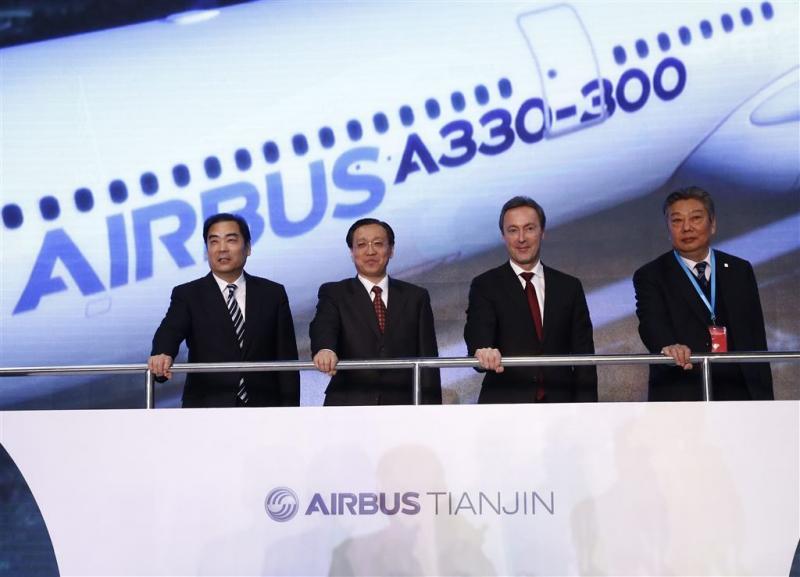 Airbus bouwt nieuwe fabriek in China