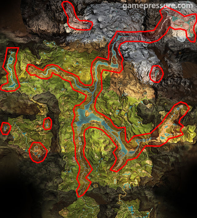 Height map Far Cry Primal