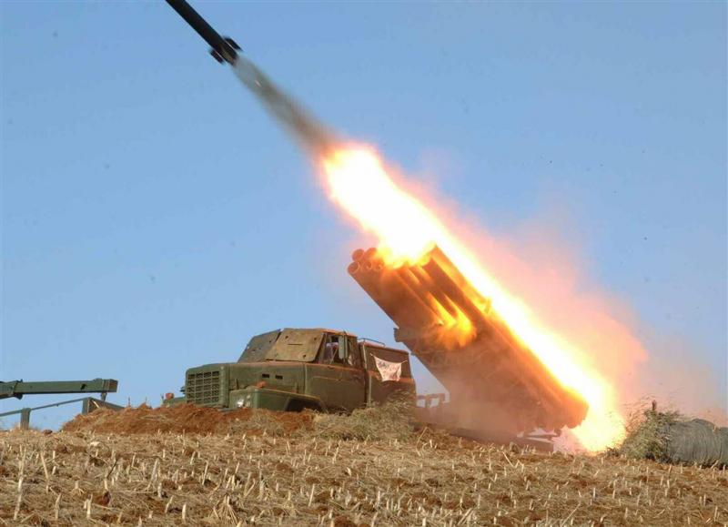 Noord-Korea vuurt opnieuw projectielen af