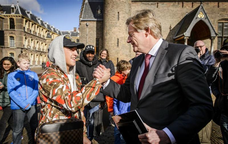 Martin van Rijn is Lil' Kleine dankbaar