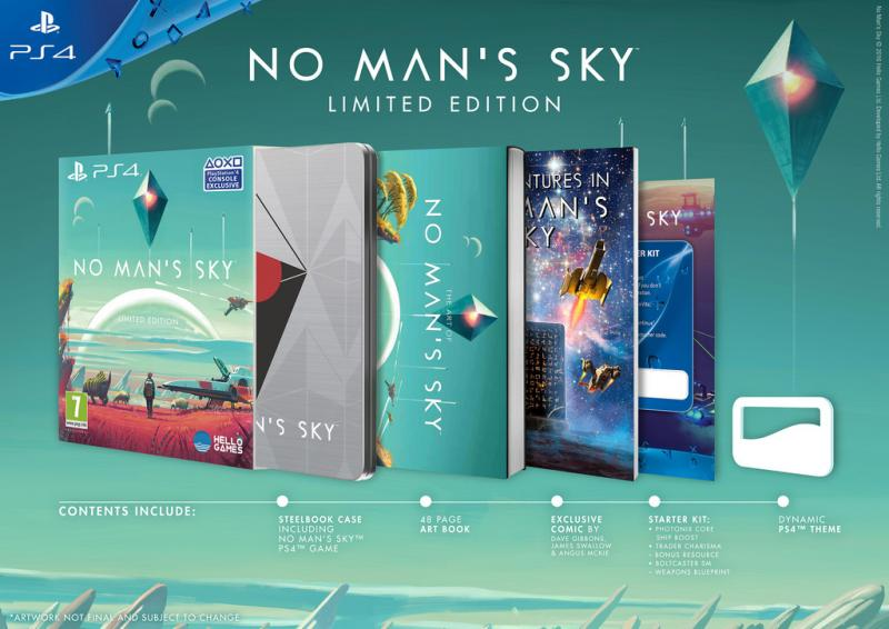 No Man's Sky Limited Edition (Foto: Sony)