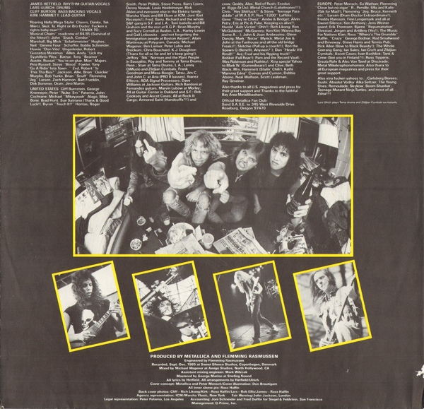 Metallica - Master of Puppets 3