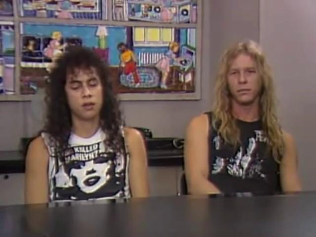 Kirk en James in 1986