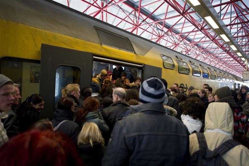 Veel animo voor actie studenten in trein
