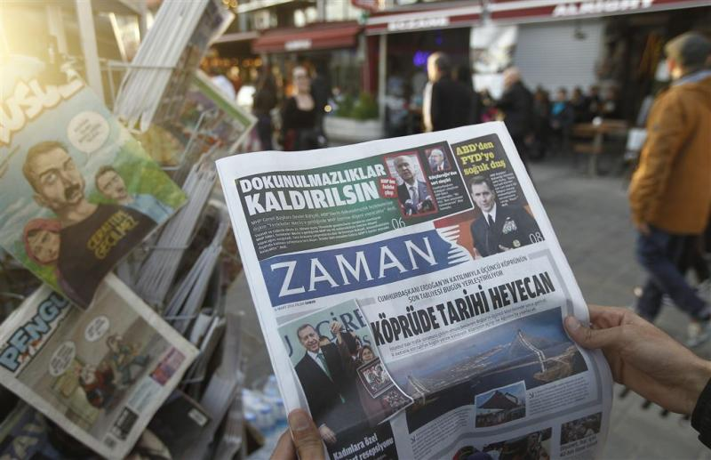 Turkse krant Zaman is nu lovend over Erdogan