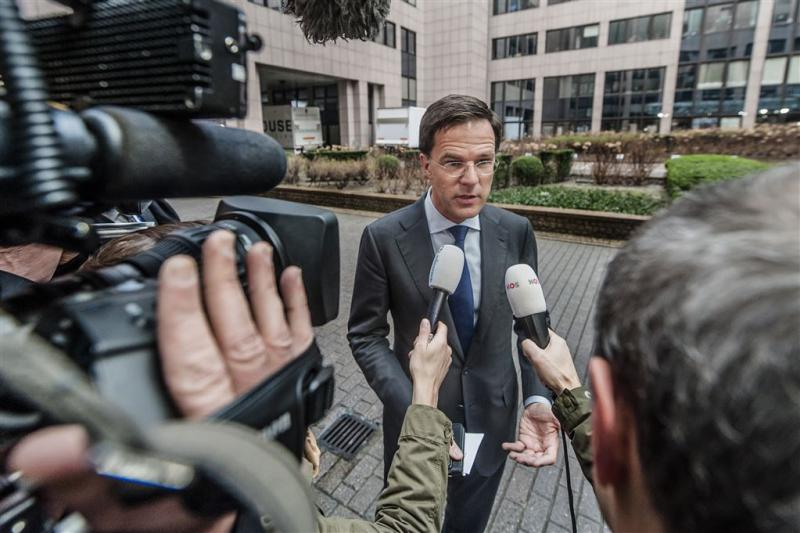 Rutte 'gematigd optimistisch' over slagen top