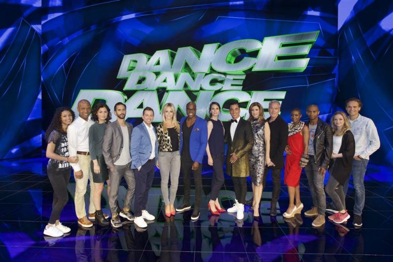 Tv-beeld voor De Kwis en Dance, Dance, Dance