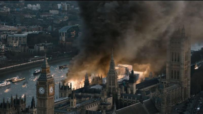 London Has Fallen chaos and destruction