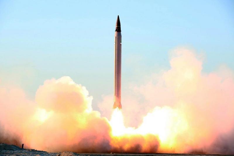Iran test raketten