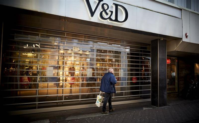 V&D wordt Decathlon in centrum Den Haag