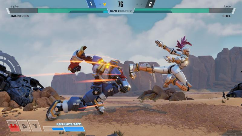 Screenshot Rising Thunder