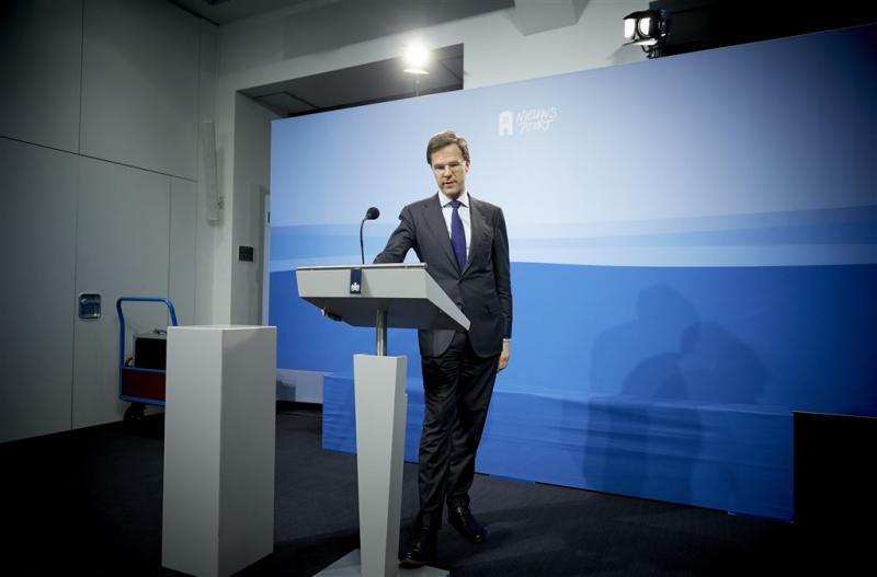 Rutte: niet gedreigd met kabinetscrisis