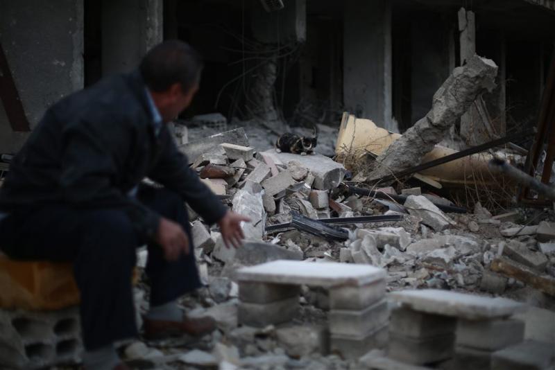 'Stop met aanwakkeren conflict Syrië'