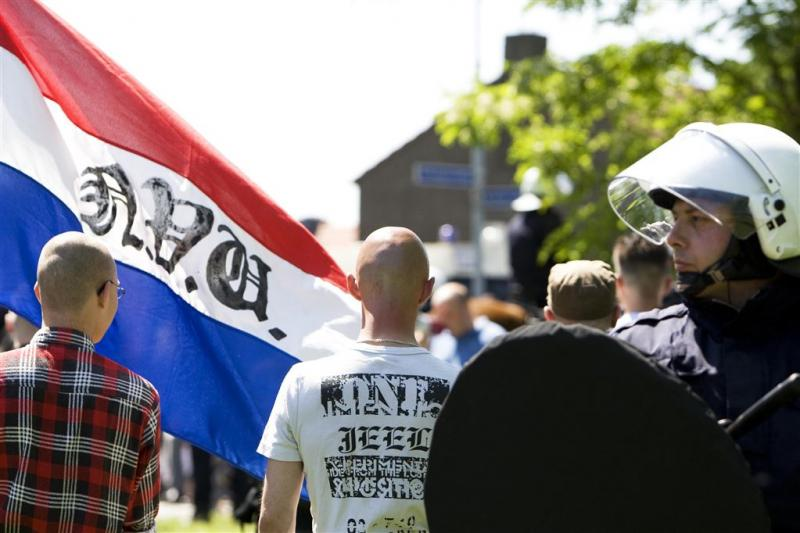 Aanhoudingen wegens Hitlergroet in Amsterdam