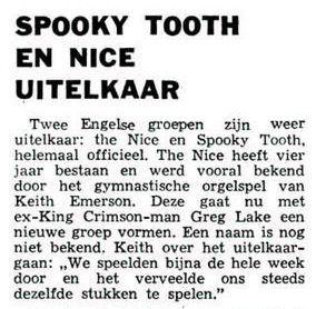Uit de Leeuwarder Courant van 18 april 1970