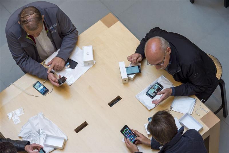 'Gebruiker smartphone dik tevreden'