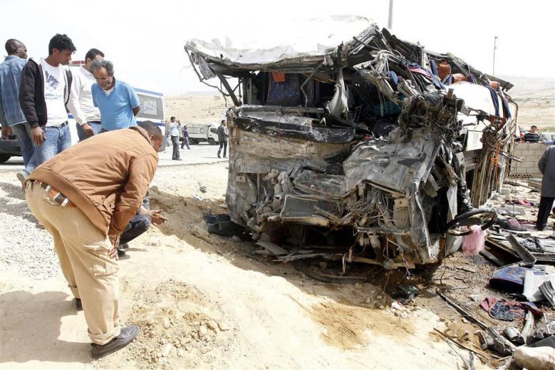 14 doden door busongeluk in Jordanië