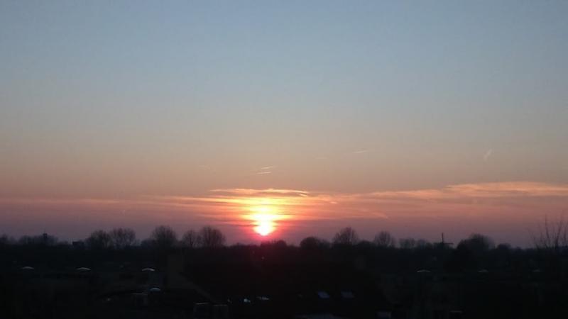 Zonsondergang in Alkmaar