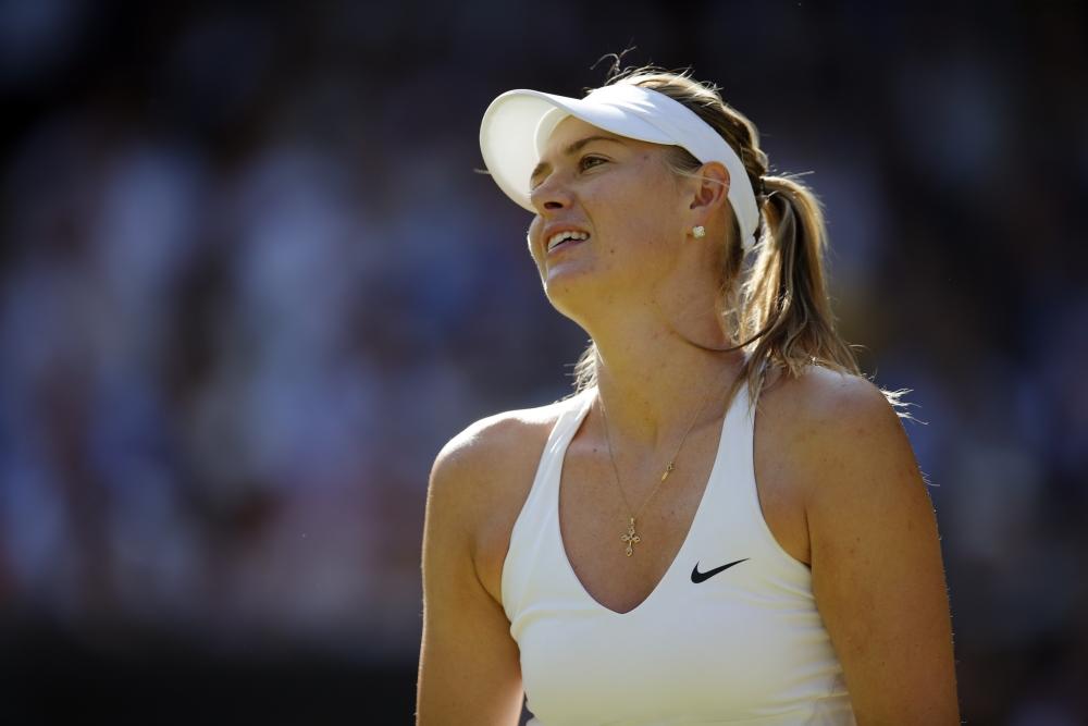 Sharapova blijkt een prima uithangbord voor meldonium (Pro Shots / Action Images)