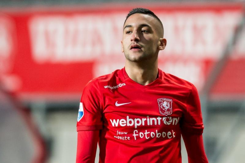 Hakim Ziyech zal het shirt van het Nederlands elftal niet meer dragen. (PRO SHOTS/Erwin Spek)