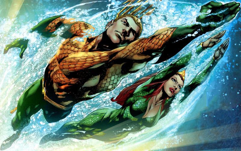 Aquaman en Mera