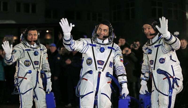 Amerikaans-Russisch team vertrokken naar ISS