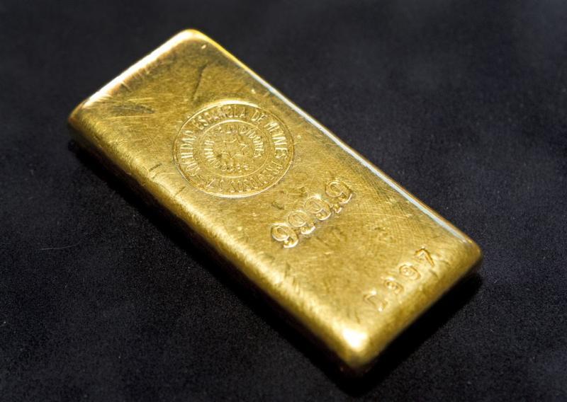 Beleggers duiken in goud