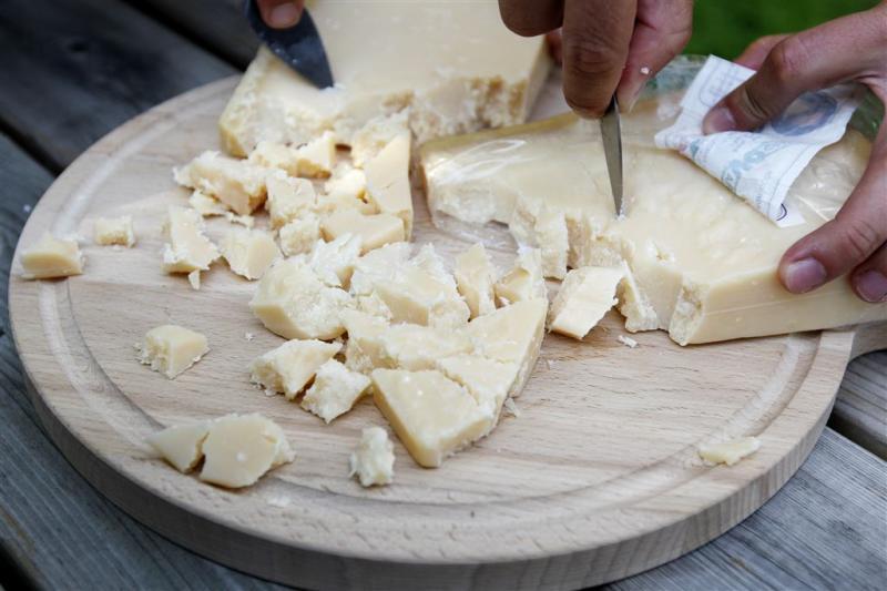 31 stoffen geven Parmezaanse kaas zijn smaak