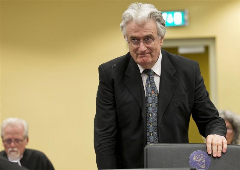 Joegoslavië-Tribunaal vonnist tegen Karadzic