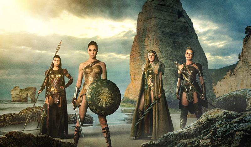 Amazons uit Wonder Woman