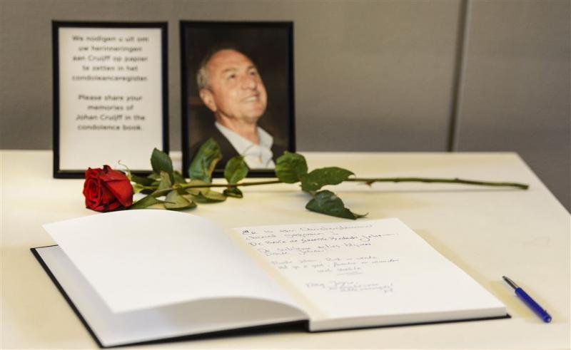 Superlatieven in condoleanceregister Cruijff