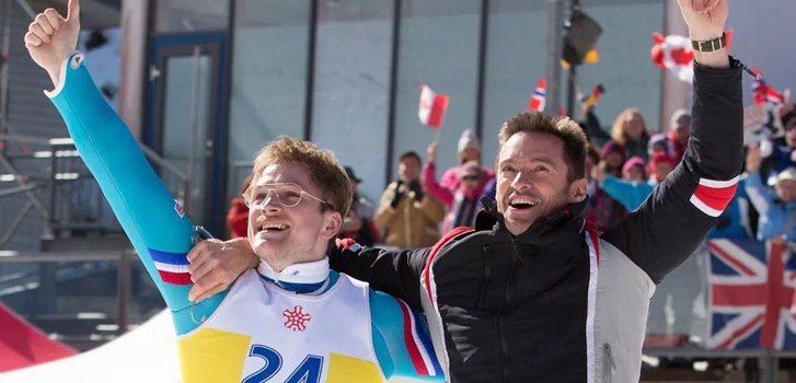 Eddie the Eagle victory