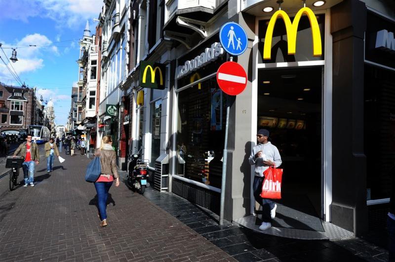Omzet McDonald's dikt aan in Nederland