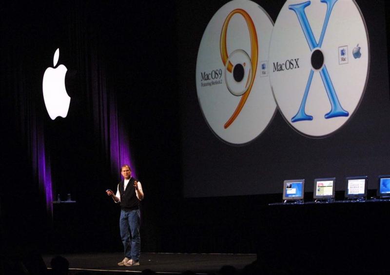 'Apple laat oude naam Mac OS terugkeren'
