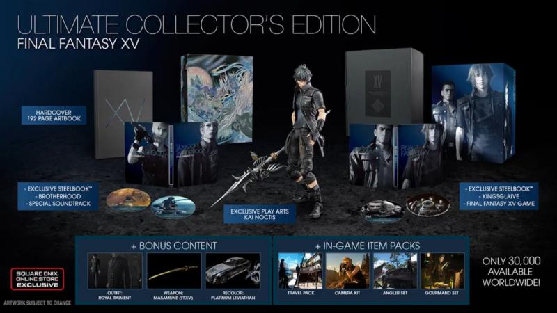 FFXV Ultimate Collectors Edition