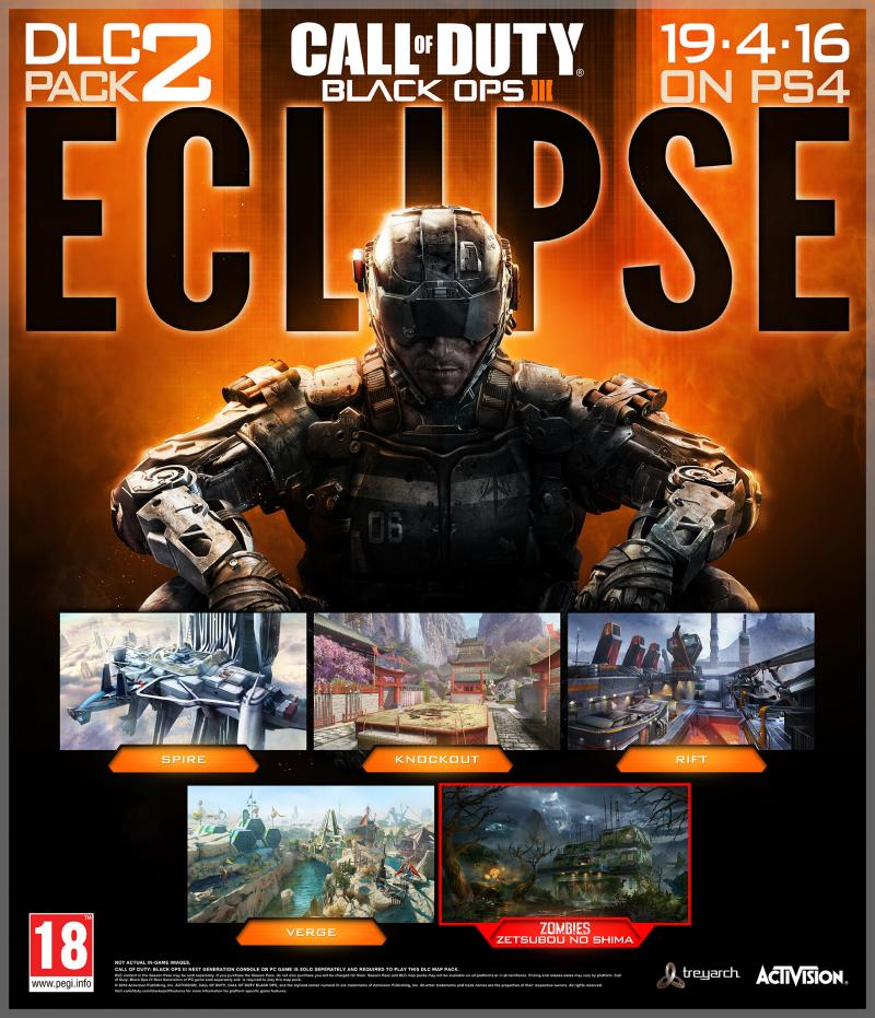Call of Duty Black Ops 3 Eclipse aankondiging (Foto: Activision)
