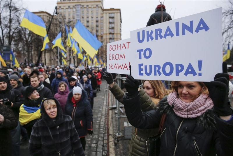 'Verdeeldheid EU over lidmaatschap Oekraïne'