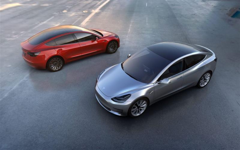Meer dan 232.000 orders voor Tesla Model 3