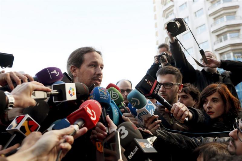 Podemos raadpleegt leden over kabinetsdeelname