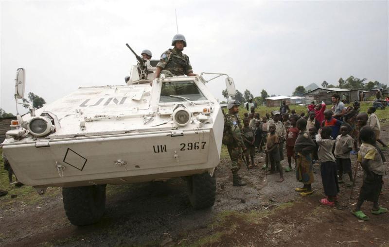 'Blauwhelmen Congo misbruikten minderjarigen'