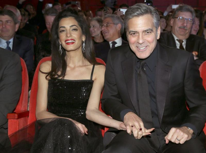 George Clooney boos over nep-interview